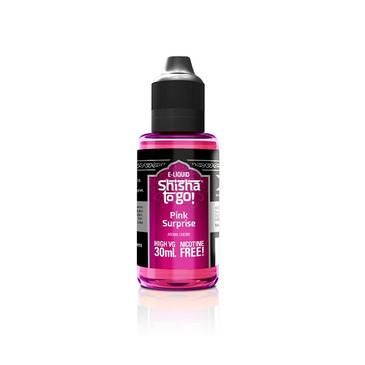Dark Cherry flavoured Short Fill Shisha e liquid