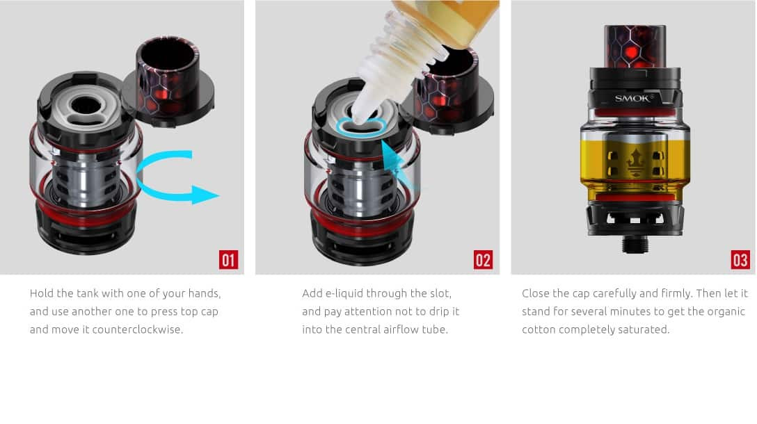 Smok Mag top-fill e juice guide