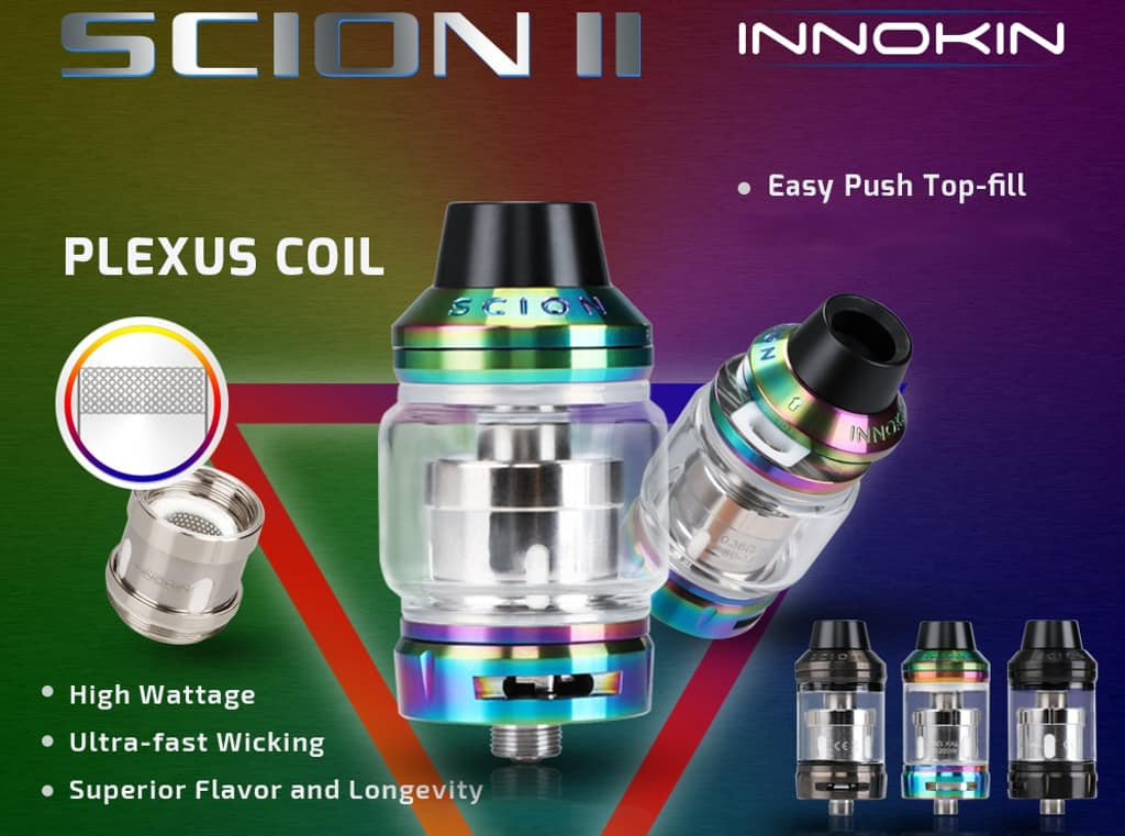 Innokin Proton VW Modes, Rainbow edition