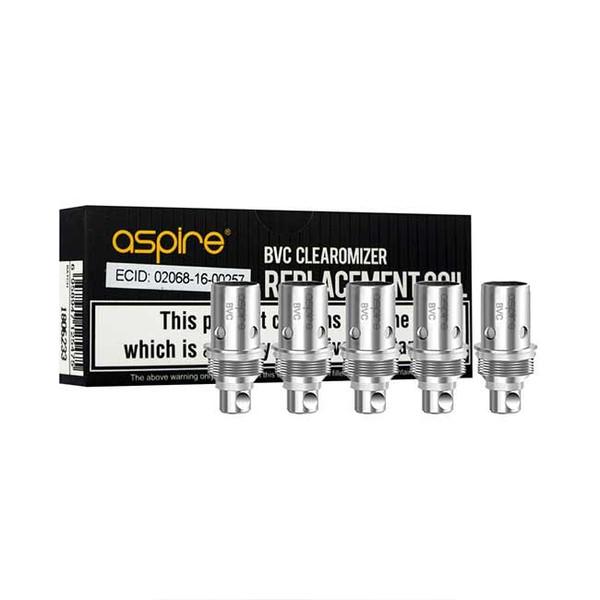 Aspire K2 coils, Aspire BVC coils (5 pack)