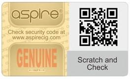 Aspire Cleito Pro, UK verification code