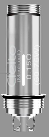 Aspire Cleito Pro Mesh coil up close