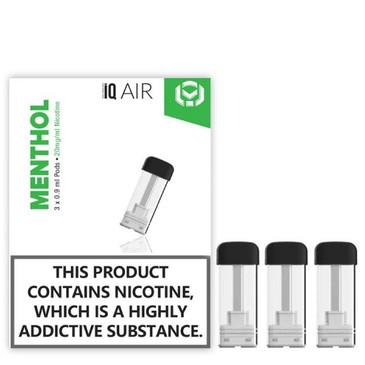 iQ Air Pod. Nic salt Menthol flavour