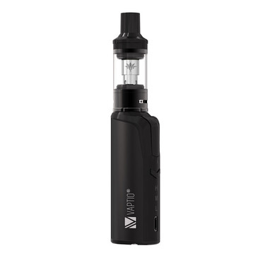 Vaptio Cosmo Vape Kit Black