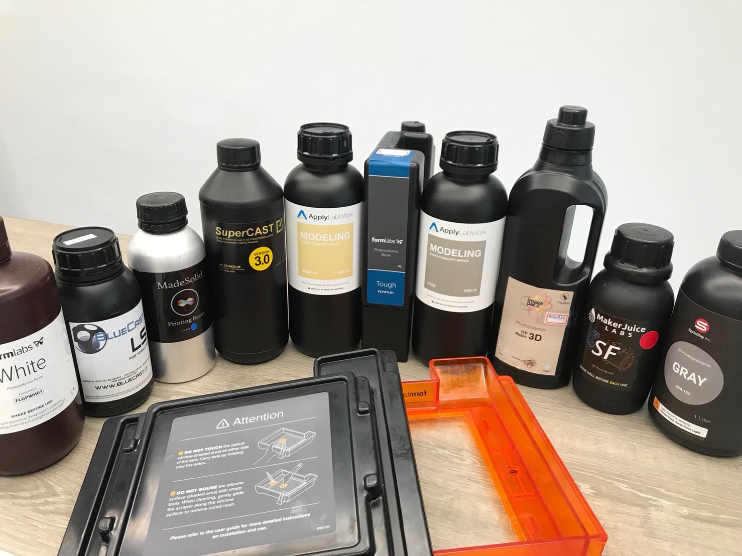 Choosing the Right SLA Resins for Your Applications