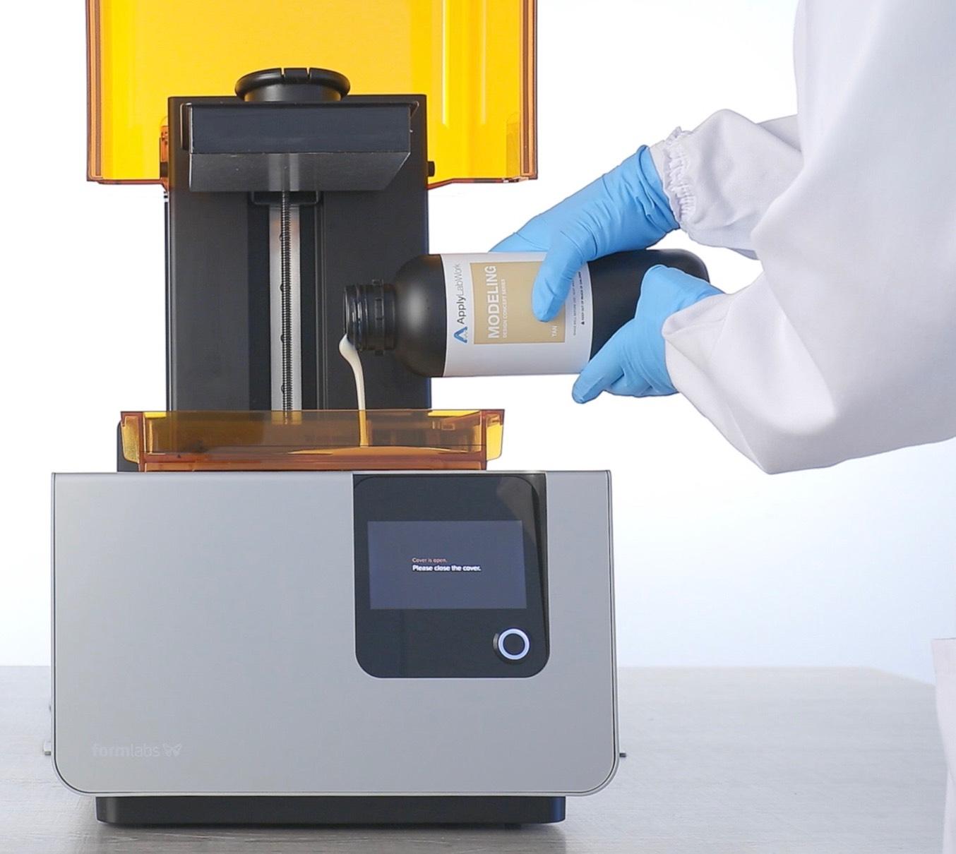 An Alternative Resin for your SLA 3D Printer/Formlab's