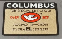 Columbus El Over Size Frame Decal