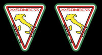Somec Made in Italy Decals #2 - 1 Pair