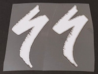 Specialized Logo Badge Decals - 1 Pair Cut Vinyl - Large - Choose Color