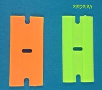 Plastic Razor Blades - Set of 2 (sku 659)
