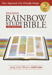 Rainbow Study Bible - KJV Edition