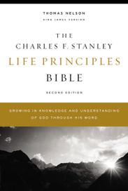 KJV Charles F Stanley Life Principles Study Bible