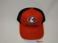 Kubota Burnt Orange/Black 2 Tone Chino Cap | 2002234890001