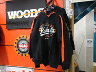 Kubota Black/Orange Pullover Hoodie-Large | KB02-4041-03