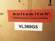 Boltswitch VL369G5 1600 Amp Pressure Contact Switch New In The Box, Fuses Sold Separately