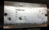 General Electric 9T28Y5435 Transformer 60hz 25kva Hv L3 300 Lv 120/240
