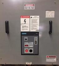 Siemens 15-GMI-500-1200-37 AC High Voltage Breaker 1200 Amp 15 kV 60 Hz