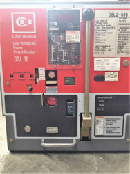 Cutler Hammer DSLII-416 Circuit Breaker MO DO LSIG
