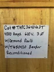 THPC3640BG3T GE 4000 Amp Switch With Ground Fault