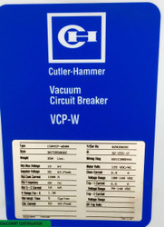 150DHP-W500 1200 Amp Cutler Hammer New Surplus 125 Vdc Sku 786