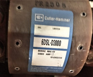 Cutler Hammer 6DSL-D3000 Fuse, 600VAC, SKU 11