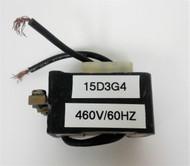 GE 15D3G4 460V 60HZ COIL
