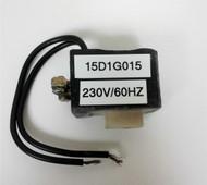 GE 15D1G015, 230V, 60HZ COIL