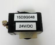 GE 15D3G048, 24V/DC COIL