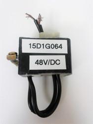 GE 15D1G064, 48VDC COIL