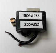 GE 15D2G088, 250VDC COIL