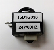 GE 15D1G036, 24V/60HZ COIL