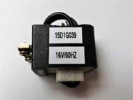 GE 15D1G039, 16V/60HZ COIL