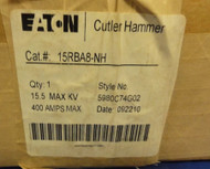 Eaton Cutler Hammer 15RBA8-NH Non Indicating Fuse, New