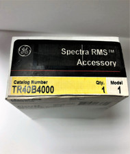 GE GENERAL ELECTRIC SPECTRA RMS RATING PLUG TR40B4000 4000 AMP