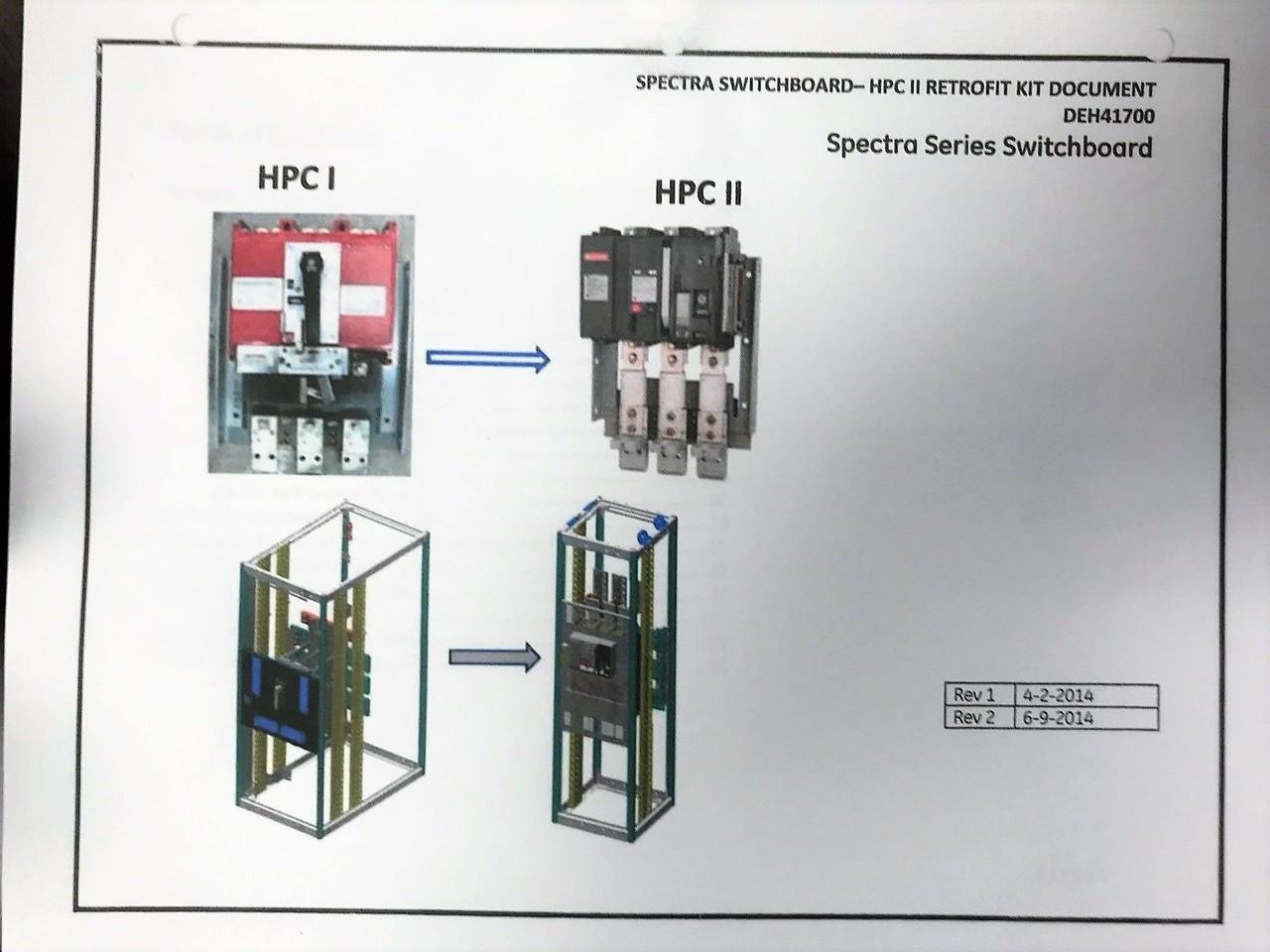 Ge Thpc23640b 4000 Amp Switch New To Thpc3640b National Circuit Breaker Retrofit Kit Larger More Photos