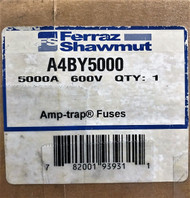A4BY2500 FUSE 2500 AMPS 600 VOLTS A4BY 2500 FORM 480 NIB Ships 24/7