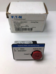 EATON 8MES800T 800A RATING PLUG *NEW IN BOX*