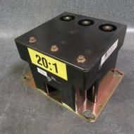 CUTLER HAMMER VOLTAGE TRANSFORMER 9917D52H01 RATIO 20:1 PRI:2400V 45KV 100VA