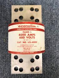 4000 AMPS LCL-4000 ECONOLIM FUSE 600 VOLTS
