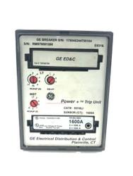D216LI 1600 AMP GE PROGRAMMER TRIP UNIT W/ TR16C1600 RATING PLUG