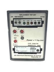 D325LIT2R GE Programmer Trip Unit 2500 Amp W/ TR25C2500 Rating Plug