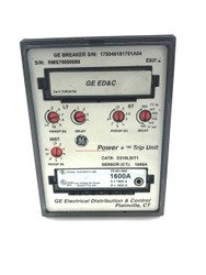 D216LSIT1 GE TRIP UNIT PROGRAMMER 1600 AMP W/ TR16C1600 AMP RATING PLUG