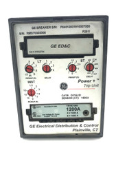 D216LSI GE Trip Unit Programmer 1600 AMP w/ TR16C1200 Amp Rating Plug