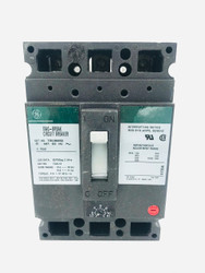 GENERAL ELECTRIC TEC36050 50 AMP 600 VAC 3 POLE MAG BREAK CIRCUIT BREAKER