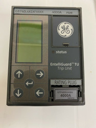 EntelliGuard Trip Unit GB740L4XFXXX 4000 Amp W/ 4000 Amp Rating Plug
