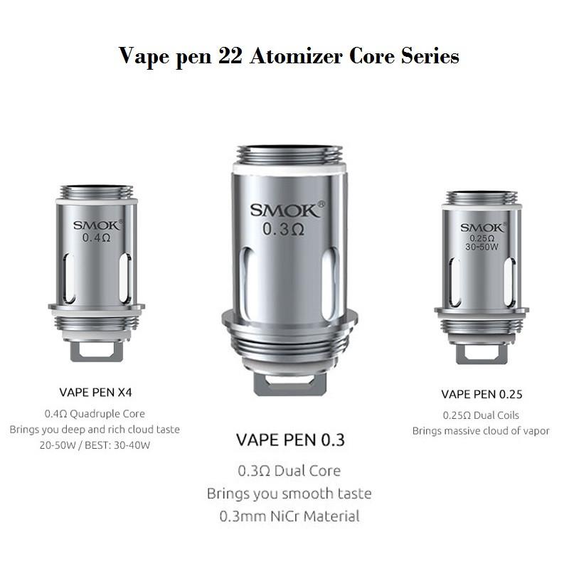 Smok Vape Pen 22 Replacement Coils