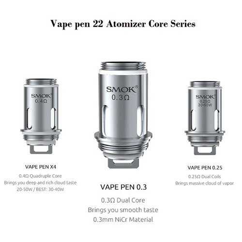 Smoke Vape Pen 22 Replacement Coil from Velvet Vapors