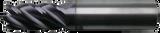 3/16x3/16x3/8x2 5Flt VI 0.000 CR - TiAlN