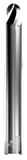 CARBIDE DIE MOLD END MILL, 3° TAPERED SHANK, BALL, 2 FLUTE, 1/8''DIA, 1/8''LOC, 3''OAL, 1.19''LENGTH OF TAPER, 1/4''SHANK, GMS² COATED