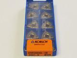 KORLOY INSERTS WNMG080404-VM NC3220 (1-02-045432)